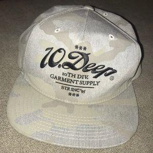 10.Deep Camo SnapBack